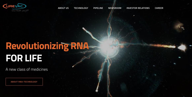 CureVac Biotech Corona impstoff