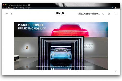 volkswagen digital drive digital-Ausstellung-Start-