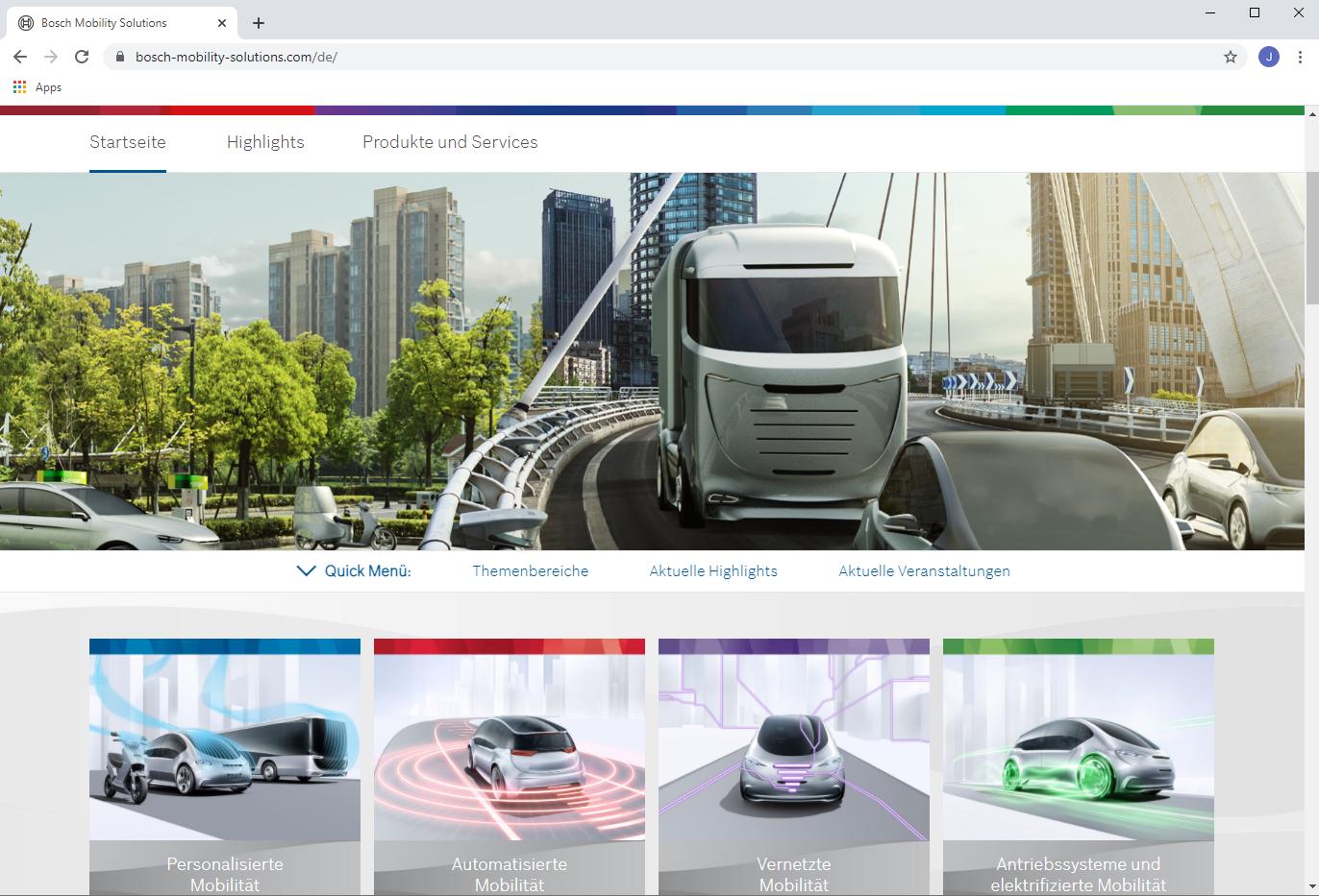 Stationäre Brennstoffzelle Bosch Mobility