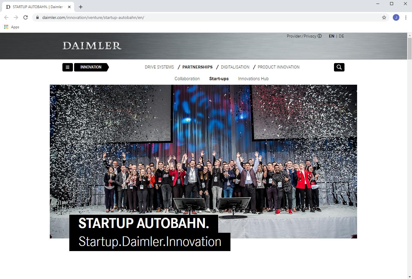 Startup Autobahn schließt 30 Projekte ab