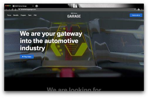 bmw startup garage neu relaunch Dez-2020